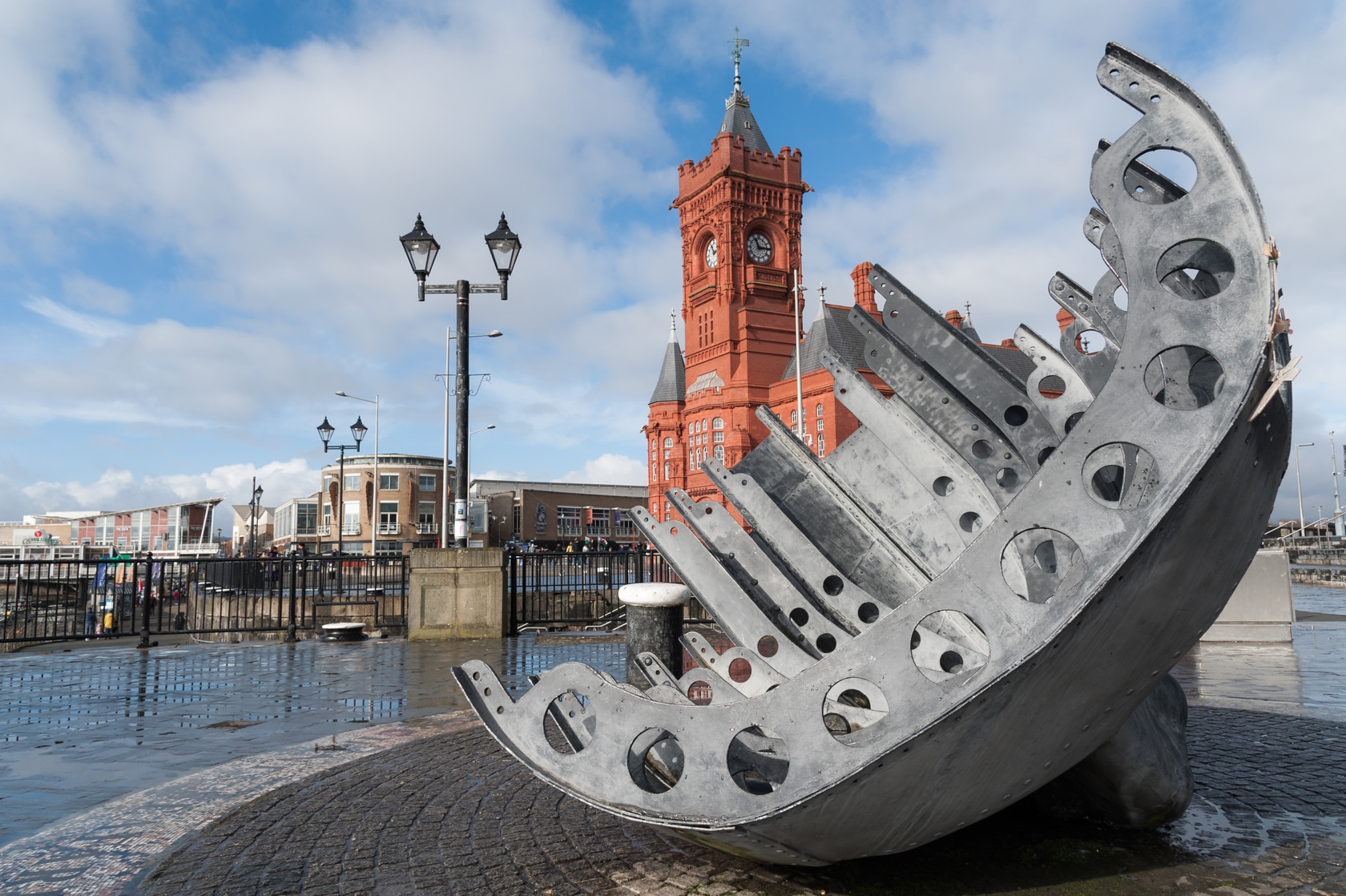 pierhead, cardiff bay (ref ukb 60) 