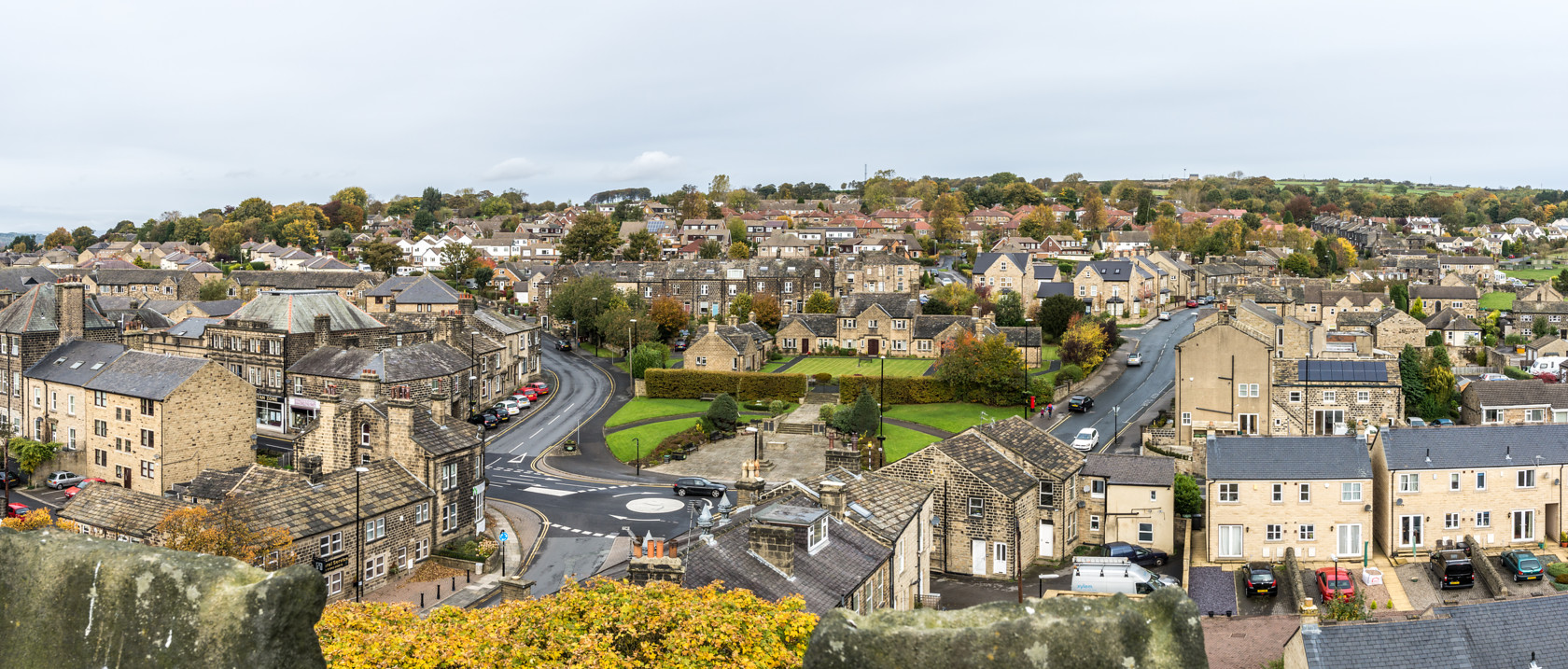 looking north from st oswalds bell tower (ref pa 30) 