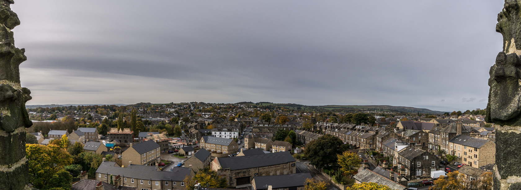 looking west from st oswalds bell tower (ref pa 33) 