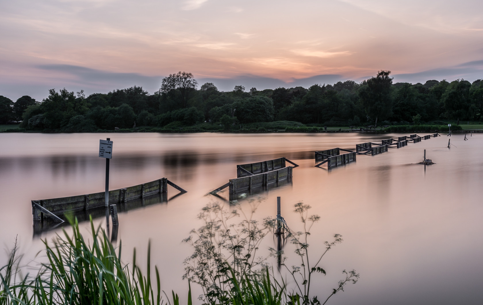 yeadon tarn at sunset (ref av 353) 