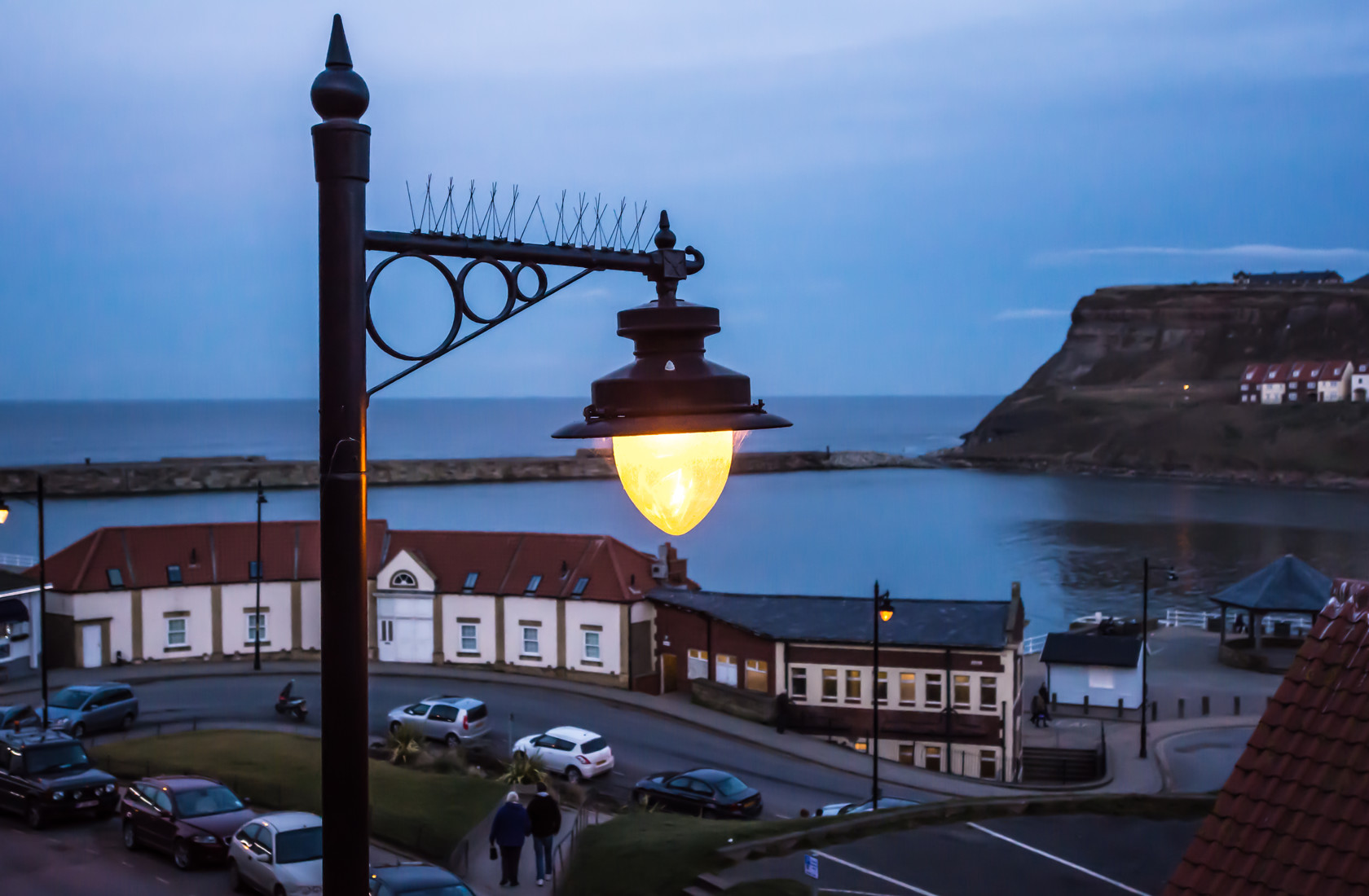 lighting the way, whitby (ref la 147)