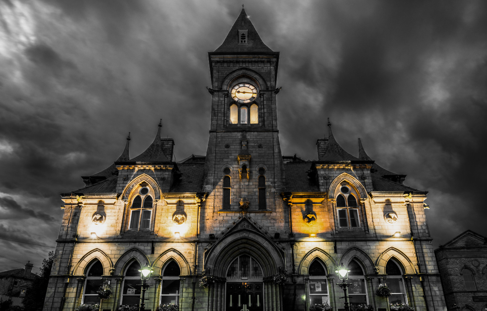 town hall, yeadon (ref fa 44) 