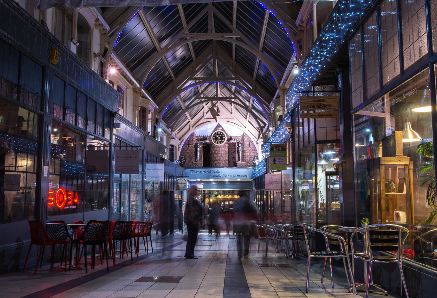 time goes by, grand arcade (ref can 8) 